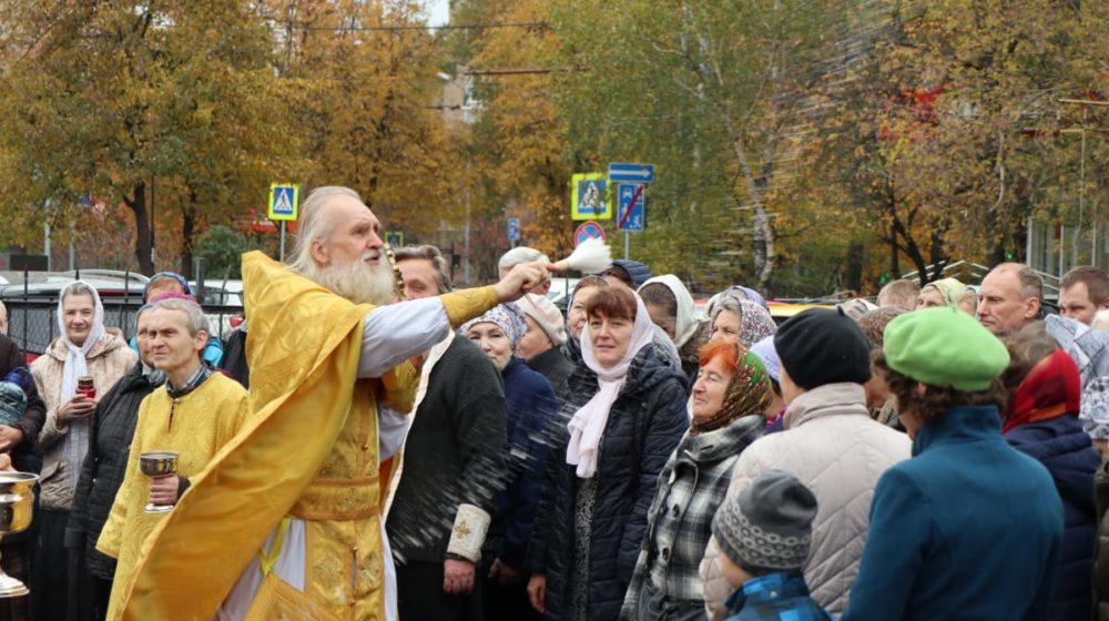 Престольный праздник храма апостола Иоанна Богослова