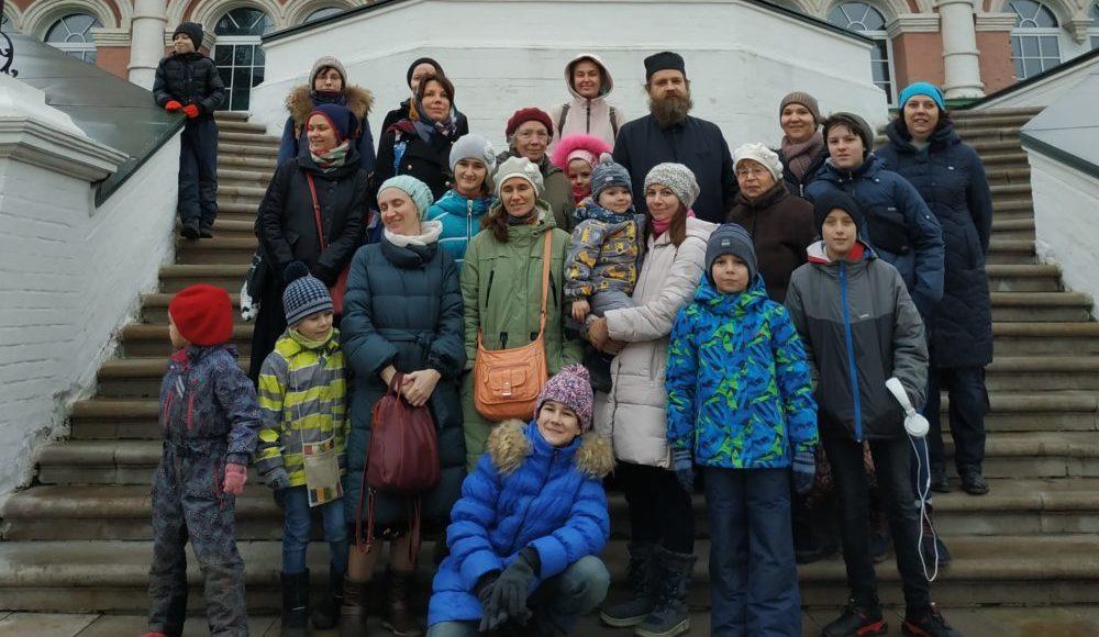Экскурсия воскресной школы в Донской монастырь